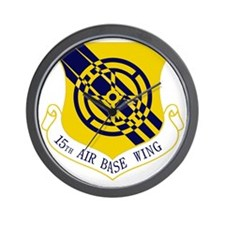15th Air Base Wing Wall Clock