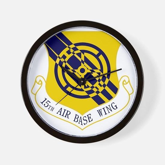 15th Air Base Wing Wall Clock