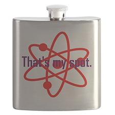 That's my spot. Flask