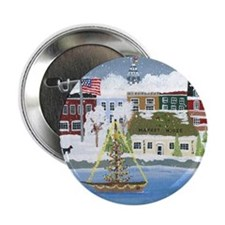 """Christmas in Annapolis 2.25"""" Button"""