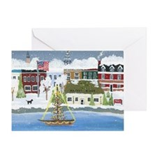 Christmas in Annapolis Greeting Card