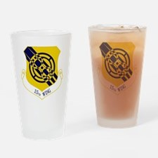 15th Wing Drinking Glass