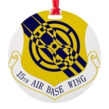 15th Air Base Wing Ornament