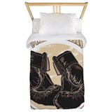 Boxing Luxe Twin Duvet Cover