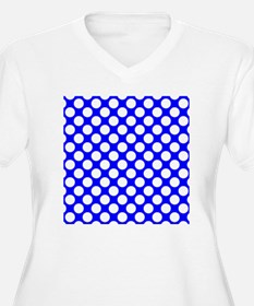 Blue and White Po T-Shirt