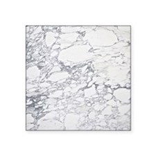 "Marble Notes Square Sticker 3"" x 3"""