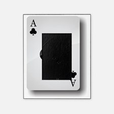 Ace of Clubs Picture Frame