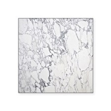 "Marble iPad3 Square Sticker 3"" x 3"""