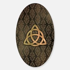 Triquetra - iPhone4 and 4S Switch Sticker (Oval)