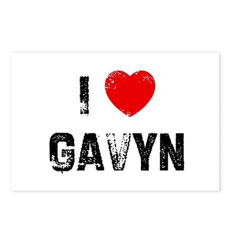 I * Gavyn Postcards (Package of 8)