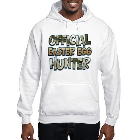 Camo Easter Egg Hunter Hooded Sweatshirt