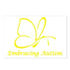 Embracing Autism Postcards (Package of 8)