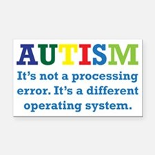 Autism awarness Rectangle Car Magnet