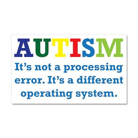 Autism awarness Car Magnet 20 x 12