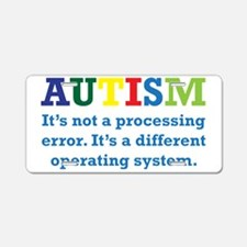 Autism awarness Aluminum License Plate