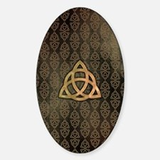 Triquetra - iPad Sleeve Sticker (Oval)