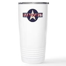 Radiodust Star Logo Travel Mug