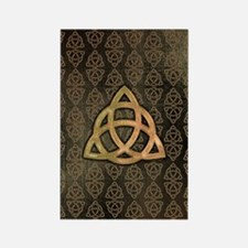 Triquetra - Galaxy Note 2 Case Rectangle Magnet