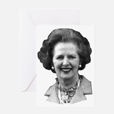 Margaret Thatcher Greeting Card