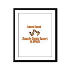 Supply Chain Expert Framed Panel Print