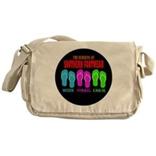 Southern Footwear Flip Flop Messenger Bag