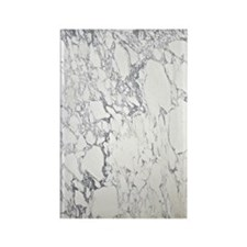 Marble Greeting Rectangle Magnet
