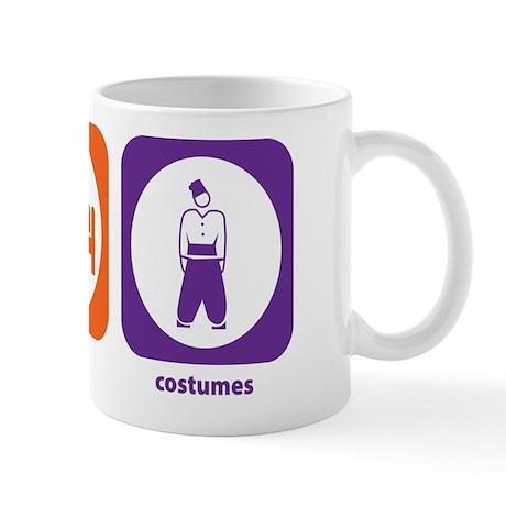 Eat Sleep Costumes Mug