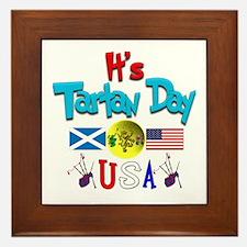 It's Tartan Day.(2):-) Framed Tile