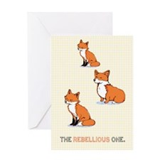 The Rebellious One Greeting Card
