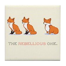 The Rebellious One Tile Coaster