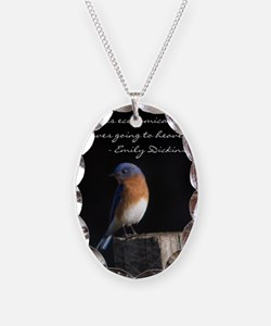 I hope you love birds too. Necklace