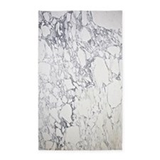 Marble Decal 3'x5' Area Rug