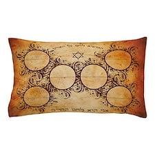 Sephardi Bread of Life Hallah Board Pillow Case