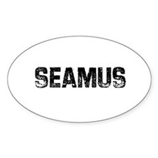 Seamus Oval Decal