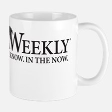 Florida Weekly Centered Black Logo Mug