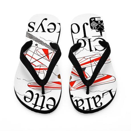 2013 LCJ Logo Flip Flops