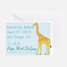 March for Babies 2013 Greeting Card