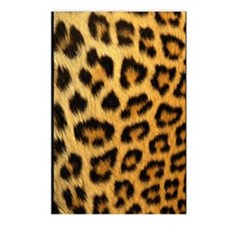 Leopard Print Journal Postcards (Package of 8)