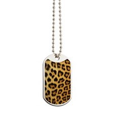 Leopard Print Journal Dog Tags