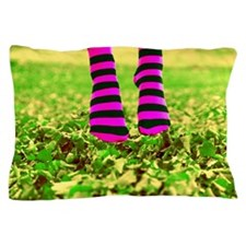 Happy Socks Cat Forsley Designs Pillow Case