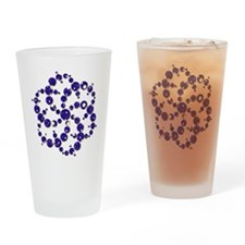 Space Spiral Drinking Glass