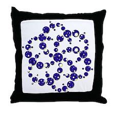 Space Spiral Throw Pillow