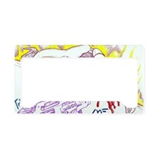Trinity of Fire License Plate Holder
