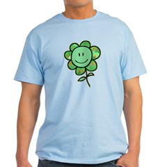 Happy Baby Flower (green) T-Shirt