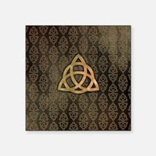 "Triquetra Square Sticker 3"" x 3"""