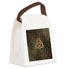 Triquetra Canvas Lunch Bag
