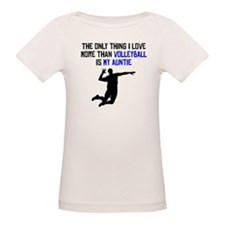 Volleyball Auntie T-Shirt