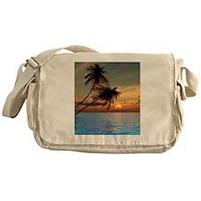 Beach Sunset Messenger Bag