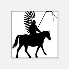 "Polish Hussar Square Sticker 3"" x 3"""
