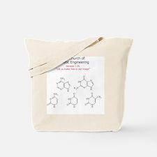 The Church of Genetic Engineering Tote Bag